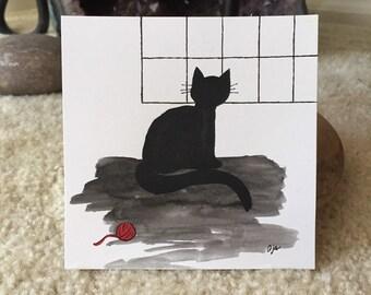 Black Cat Original Art