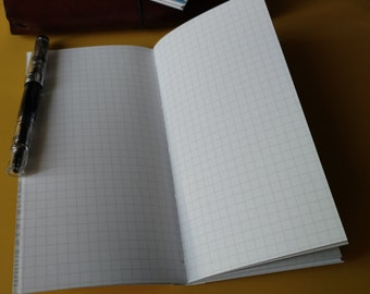 Graph Tomoe River Paper Inserts for the Traveler's Notebook