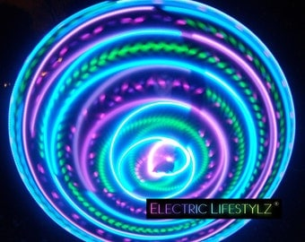Free Shipping - Hybrid LED Hula Hoop - Vibrant Aurora - limited amount