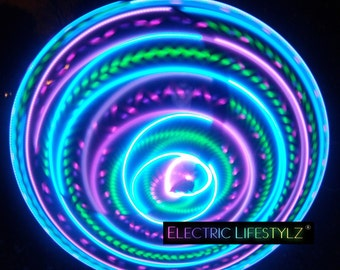 Seamless Connection - LED Hula Hoop - Vibrant Aurora
