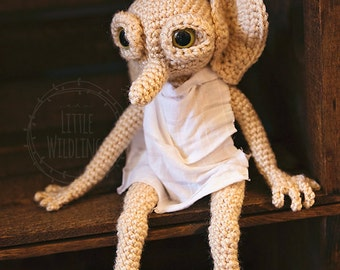 Harry Potter Inspired Dobby the House Elf doll
