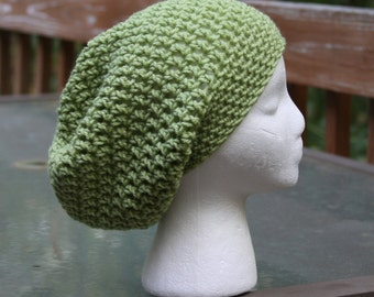 The Sparrow Slouchy Beanie in Sweet Pea - Ready to Ship