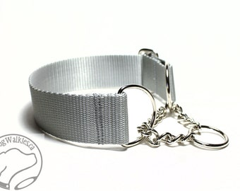 "Mix and Match 1.5"" (38mm) Wide Chain Martingale - Your Choice: Size and Color"