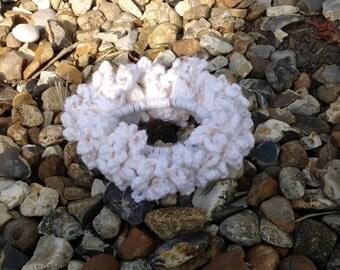 Crochet Hair Scrunchie, Crochet Hair Accessories, Crochet Hairband, Crochet Hair Ties. FREE UK Delivery