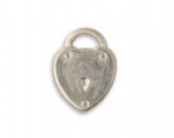 19x14mm Locked Heart