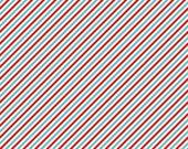 Pixie Noel - Stripe in Red - Tasha Noel for Riley Blake Designs - C5256-RED - 1/2 Yard