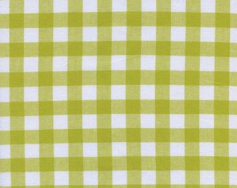 """Checkers - 1/2"""" Gingham in Citron - House Designers for Cotton + Steel - 5091-4 - 1/2 Yard"""
