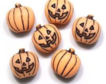 43 Pumpkin Beads