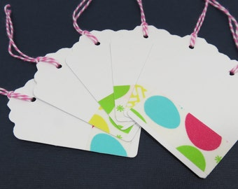 Easter gift tag etsy easter gift tags set of 6 negle Choice Image