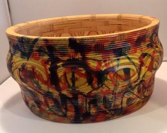 Baltic Birch segmented plywood bowl by ShopDrennan hippie