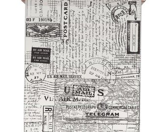 Tim Holtz Idea-Ology Postale Tissue Wrap - 15ft x 12in