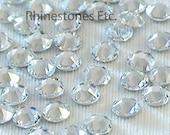 Crystal 12ss Swarovski Elements Rhinestones Flatback 1 gross (144 pieces)