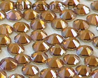 Copper 16ss Swarovski Elements Rhinestones Flatback 36 pieces