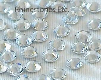 Crystal 12ss Swarovski Elements Rhinestones Flat Back 1 gross (144 pieces)