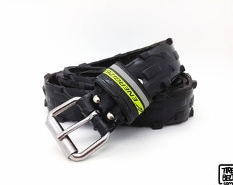 """Bicycle Tire Belt ENERGIZER"""" (upcycled vegan handmade) by tirebelt.com - Fall Collection 2015"""