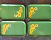 Vintage Serving Trays (set of 4)