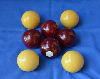 Vintage Billiards Balls
