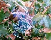 Infant loss ornament, miscarriage ornament, infant loss miscarriage memorial, SIDS