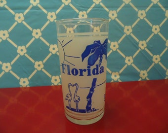 Florida State Glass - 8 Oz - Frosted - Retro Graphics