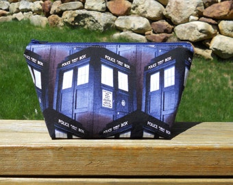 Small Makeup Bag, Taris, Doctor Who, One of a Kind