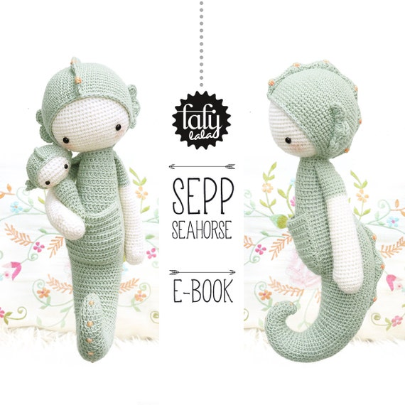 Caballito de mar SEPP • lalylala patrón de crochet / amigurumi