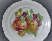 20% Heart Sale Vintage House Of Goebel Bavaria W. Germany Fruit Plate