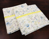 Handmade Standard Size Floral Cotton Pillowcases