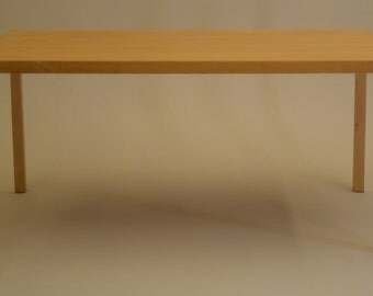 Early Maple Dining Table Milo Baughman for Founders vintage mid century modern