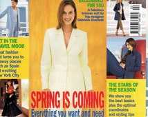 Burda Magazine World of Fashion February 1999 Spring Fashions for Women, Men and Children. Jackets, Dresses, Skirts, Tops and Pants.