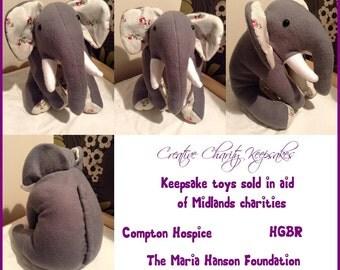 Fleece/Cotton/Felt Elephant
