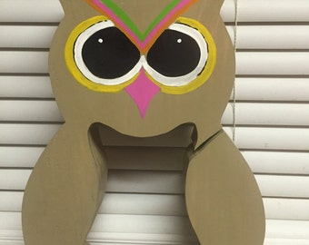 Wise Owl Coin Bank