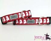 JAZZY J EXCLUSIVE Sweet Home Alabama Dog Collar