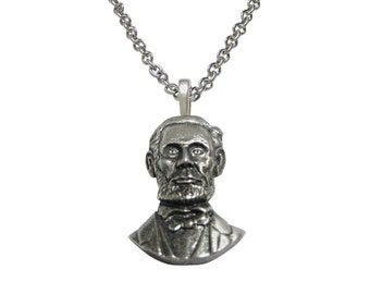 Abraham Lincoln Pendant Necklace