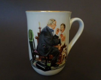 Norman Rockwell Country Doctor Cup or Mug from Norman Rockwell Museum