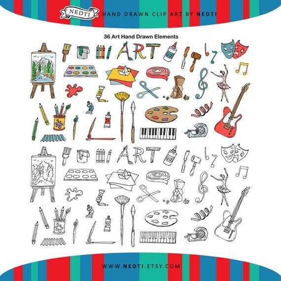 Stem School Classroom: PNG Art STEAM Doodle Clipart, Student Classroom Teacher