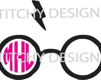 Harry Potter Glasses~SVG File~ Instant Download~ Digital File