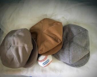 NEWBORN BABY Newsboy hat, Newspaper boy hat, Newborn size beret hat for boys, great gatsby hats, vintage style hats