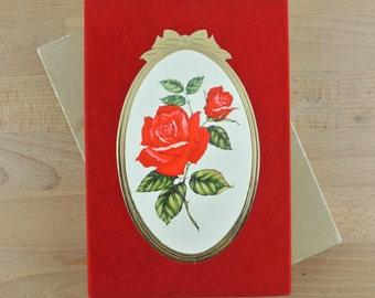 Vintage Sheaffer Eaton Address Book | Red Rose Flower Design | Unused In Box