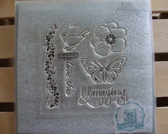 Rubber Stamps, New Polymer Stamps, Scrapbooking Stamps, Scrapbook supplies, Cardmaking supplies