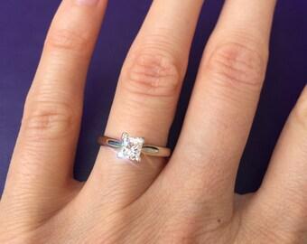 0.54 carat Diamond Engagement Ring. Offering flexible layaway