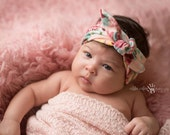 Fabric Floral Knot Headband- Baby Accessories Baby Headband Many Colors Available 5 Options!