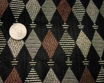 """Black diamond upholstery fabric - 58 """" wide BTY"""