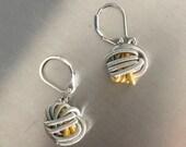 Multi knot Piano Wire Earrings