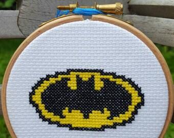 Batman Cross stitch Kit