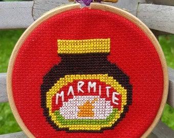 Mini Marmite Cross-stitch Kit