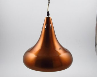 Brushed alumininum copper colored carambole biljart lamp