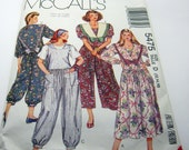 Sewing Pattern-McCall's 5475 Girly Lolita Jumper Long Size 12-16 Vintage 1991