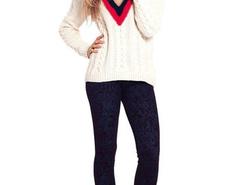 ON SALE Sporty maxi sweater