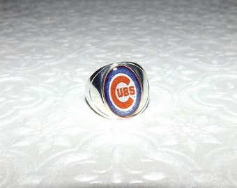"Shop ""chicago cubs jewelry"" in Rings"