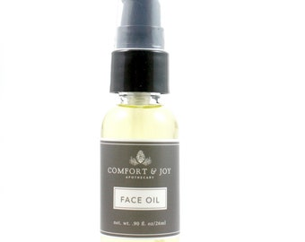 Natural Face Oil Face Serum Facial Moisturizer Natural Skincare Apothecary